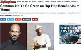 Rolling Stone Malik Yusef Common Ne-Yo Green Kanye West