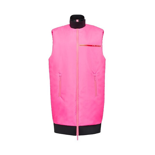 Padded technical fabric vest LR-HX010