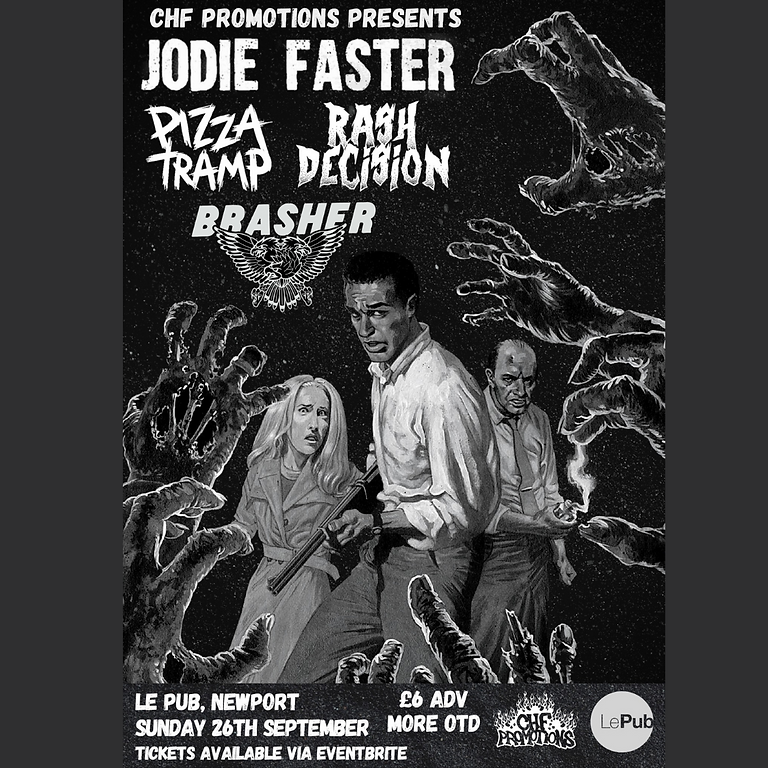 CHF Promotions Presents: Jodie Faster