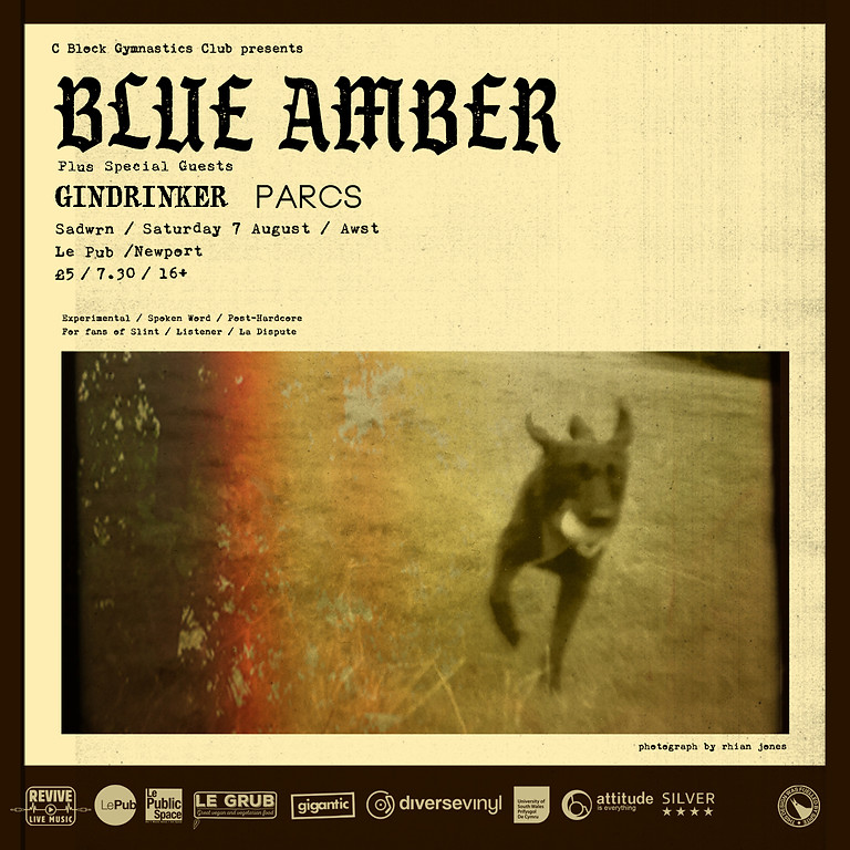 Blue Amber with support from Gindrinker and PARCS