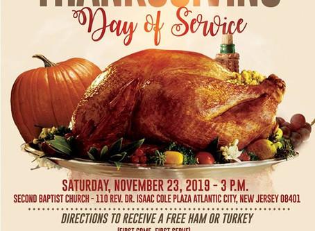 Free Turkey & Hams , Sheriff Eric Scheffler