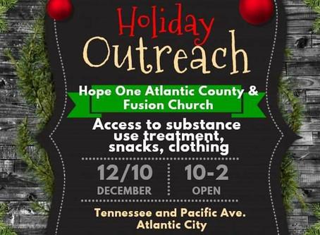 Holiday Outreach- Atlantic City