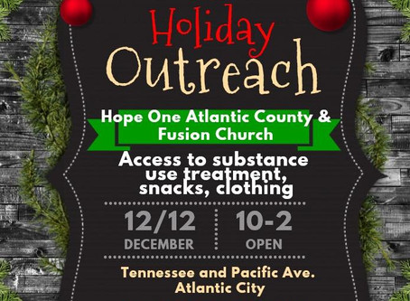Holiday Outreach event with Fusion Church