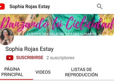 Suscríbete - Youtube