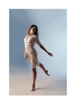 kjole i økologisk bomull