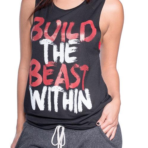 Women's Build The Beast tank