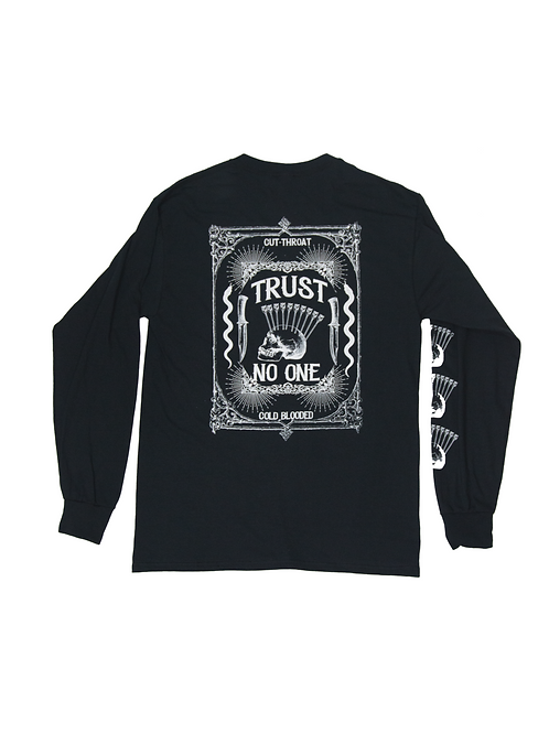 Trust no one long sleeve