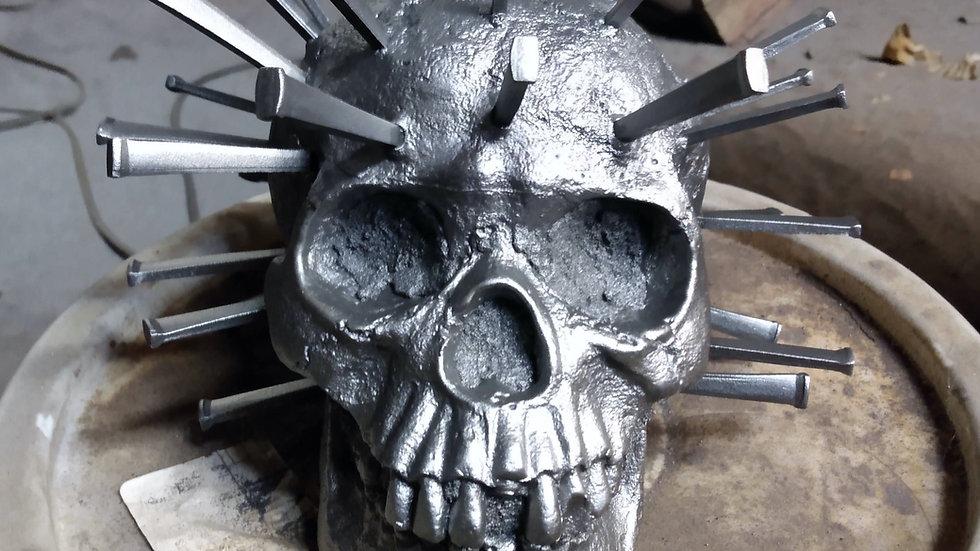 Covid Skull (cast iron)