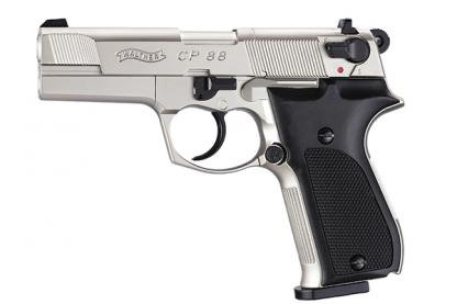 "Walther CP88 4"" Nickel [Co2 Air Pistol by Umarex]"