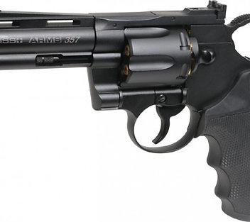 Swiss Arms 357 revolver [4.5mm BB gun by Cybergun]