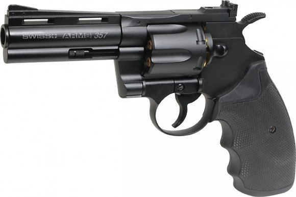 Swiss Arms 357 revolver [4.5mm BB gun by Cybergun]