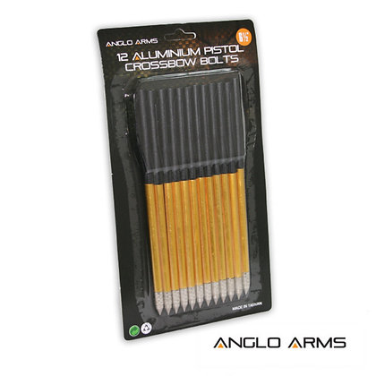 "Anglo Arms - 12 x 6.5"" Aluminium Crossbow Bolts"