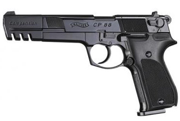 "Walther CP88 6"" Black [Co2 Air Pistol by Umarex]"