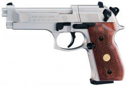Beretta 92FS Nickel & Wood [Umarex CO2 Air Pistol]