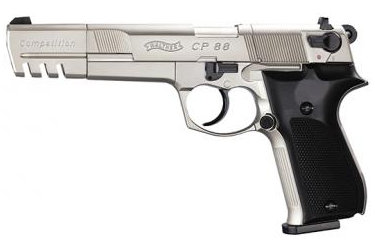 "Walther CP88 6"" Nickel [Co2 Air Pistol by Umarex]"