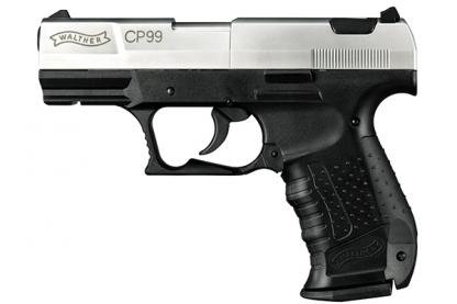 Walther CP99 Nickel [CO2 Air Pistol by Umarex]