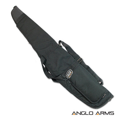Anglo Arms Gunbag (Black with Fleece Lining)