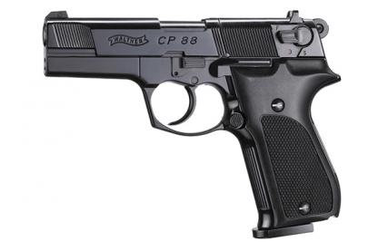 """Walther CP88 4"""" Black [Co2 Air Pistol by Umarex]"""