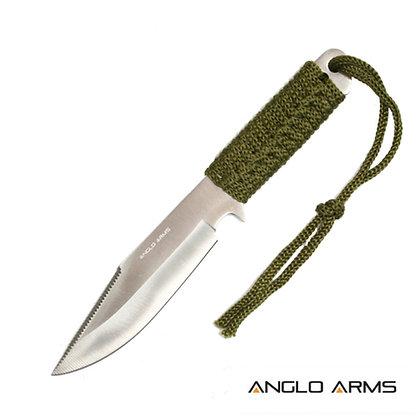 "7"" Laced Boot Knife & Sheath"