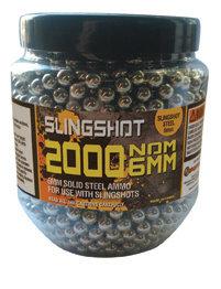 Pot of 2000 6mm Slingshot Ammo