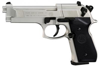 Beretta 92 FS Nickel [CO2 Air Pistol by Umarex]