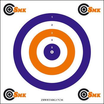 SMK All-Rounder Airgun Target (100)
