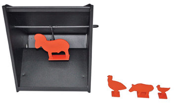 Beeman Target Holder with Interchangeable Targets