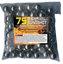 Bag of 75 9.5mm Slingshot Ammo