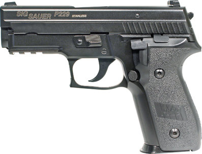 Sig Sauer P229 [6mm Airsoft Pistol by Cybergun]
