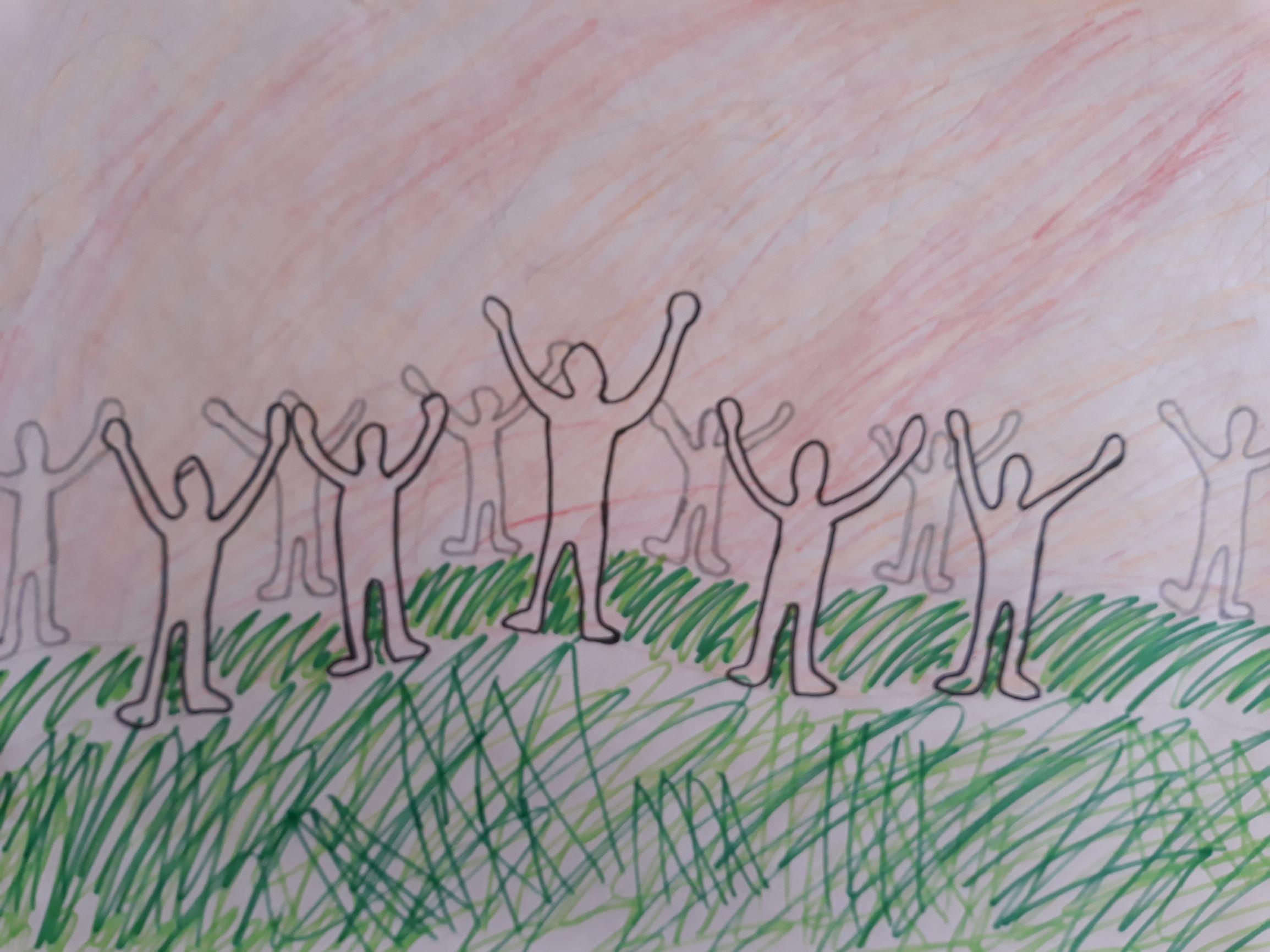 Inga's Pentecost Art