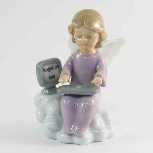"Фарфоровая статуэтка ""Ангел онлайн"""