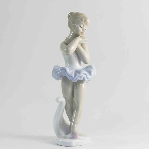 "Фарфоровая статуэтка ""Балерина"""