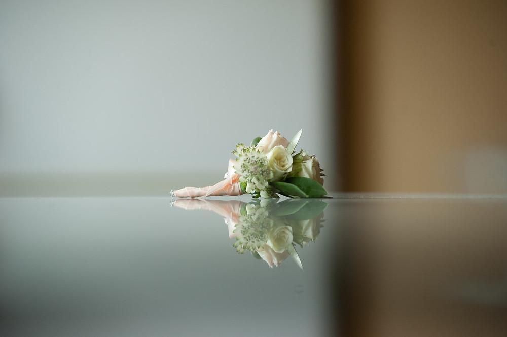 "Бутоньерка жениха от салона ""Ботаника"""