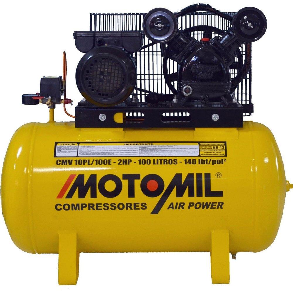 Compressor 220V - 2 Hp 100L 140 lbs