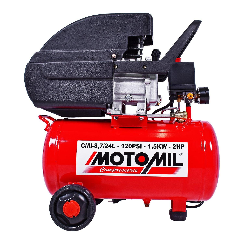 Motocompressor Bivolt 84-Pés 24L 2Hp