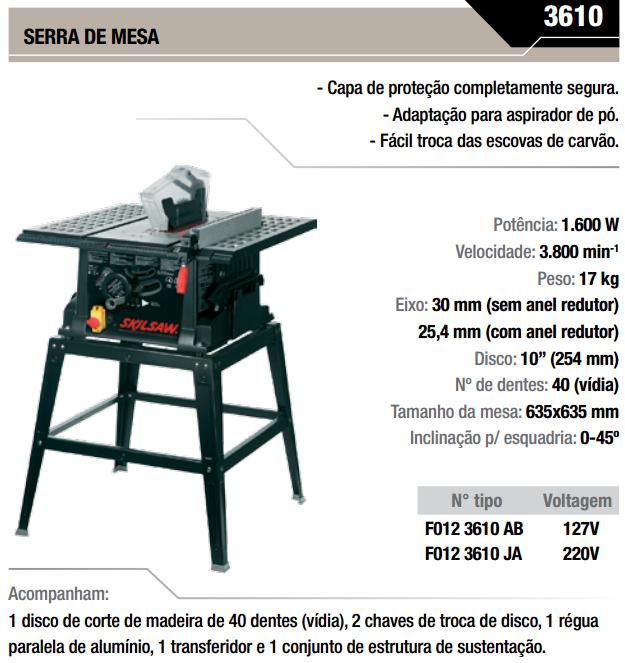 SERRA DE MESA 3610