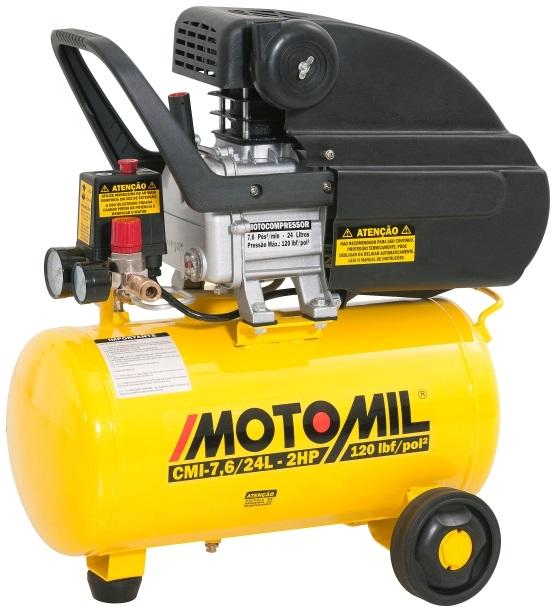 Motocompressor 220V 74-Pés 24L 2Hp