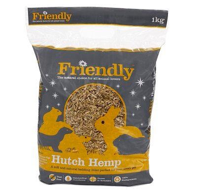 Friendly Hutch Hemp 1kg