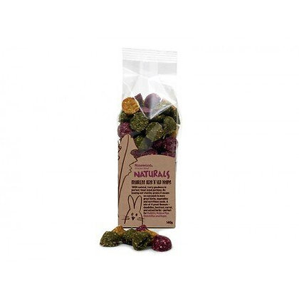 Rosewood Naturals Herb n Veg Drops 140g (pack of 3)