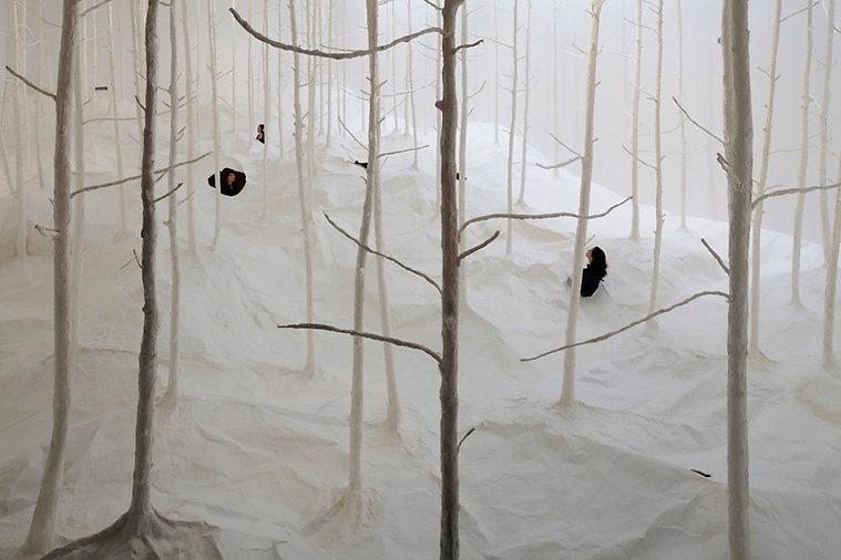 """""""Sensing Nature"""" Mori Art Museum : photo by osamu watanabe"""