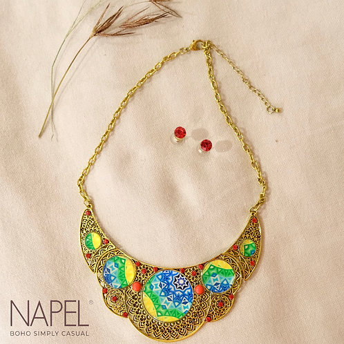 Boho Necklace - Tribal