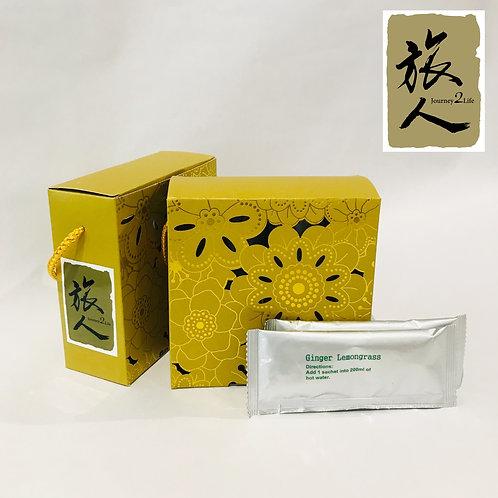 Organic Lemongrass Ginger Tea