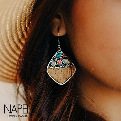 Boho Earring - Diamond