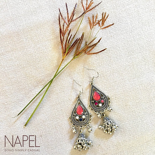Traditional Boho Earring - Tear Drop