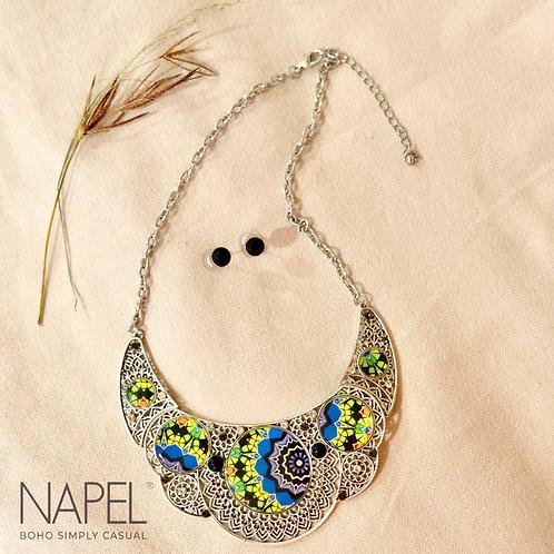 Boho Necklace - Silver