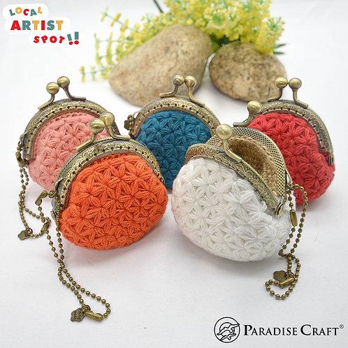 Handmade Jasmine Coin Purse