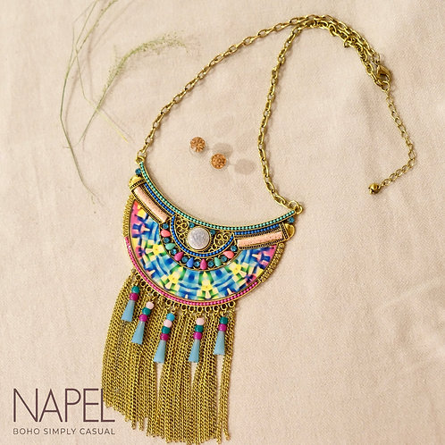 Boho Necklace - Colorful