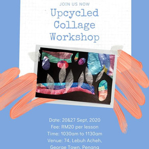 Registeration for Upcycled Collage Workshop