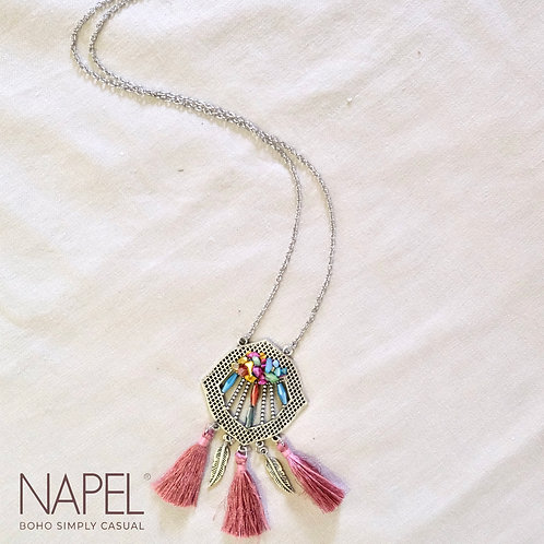 Boho Necklace - Tassel