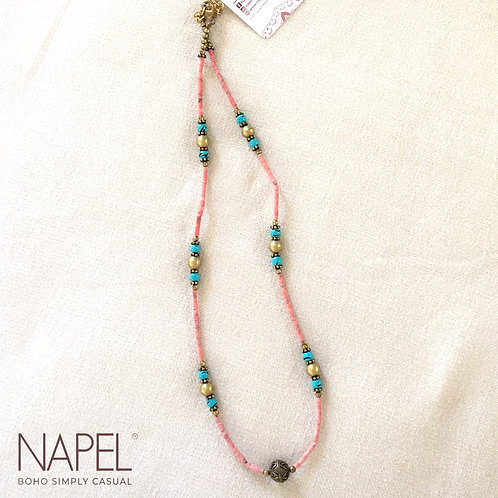 Boho beads necklace - Classis